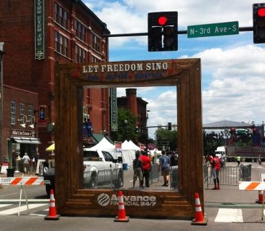 Nashville Picture Frame